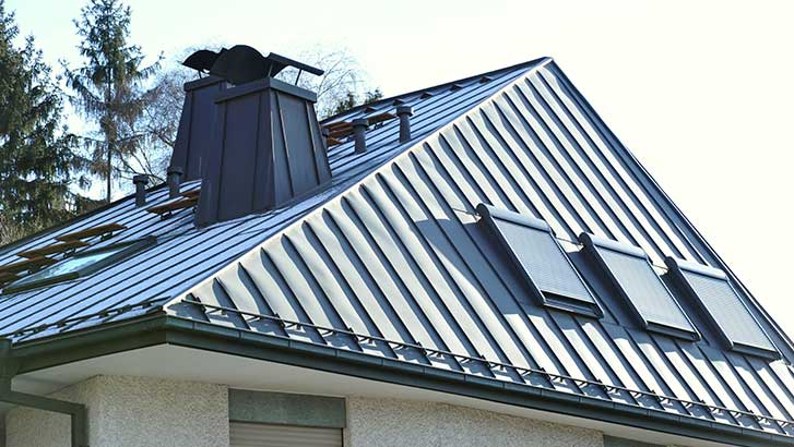 example of perfect metal roof